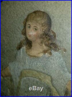 18th Century Embroidery Silk Needlework Georgian Circa 1780s