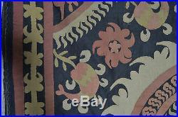 Antique Hand Embroidered Uzbek Suzani Pp284