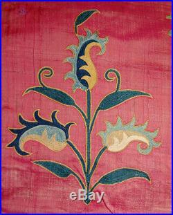 Antique Uzbek Shahrisabz Delicious Silk Embroidery Suzani