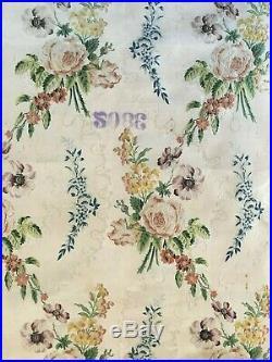 Beautiful Rare 18th Century French Silk Brocade Fabric (2896)
