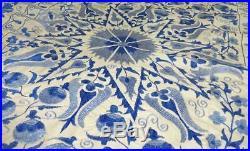 Beautiful Uzbek Silk Hand-embroidery Suzani Winter Garden A12877