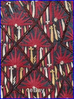 Museum Conserved Antique 1850-75 TEKKE TURKMEN Tribal Chirpy Front Panel. SUPERB
