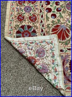 Silk Original Handmade Embroidery Uzbek Wall Hanging Suzani SALE WAS $999.00