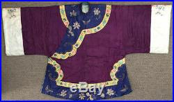 Vintage Late 19th Century Womans Embroidery Coat